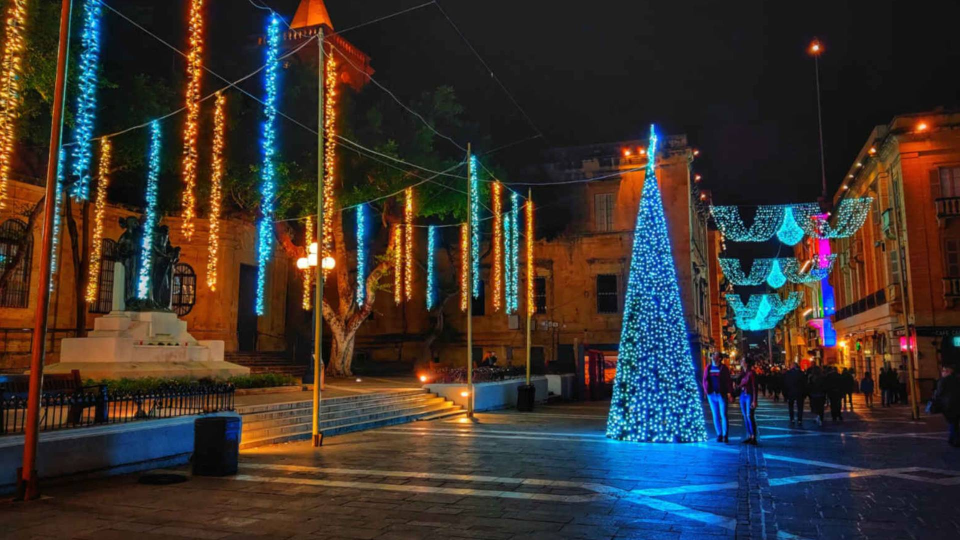 Valletta in december christmas ursulino valletta boutique hotel